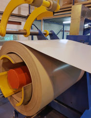 Photography of Specialist coil coated stainless steel