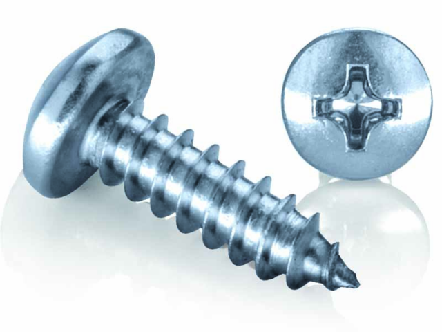 Zinc Plated Self Tapping Screws