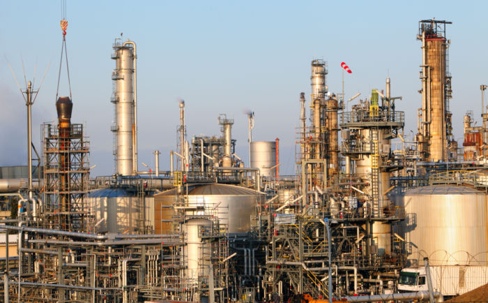 Oil and gas plant 1