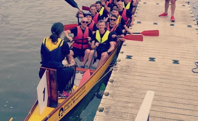 The BS Stainless Dragon Boat Racing Team