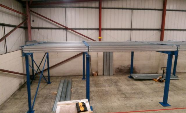 Stainless Steel Stock: Our New Mezzanine Floor