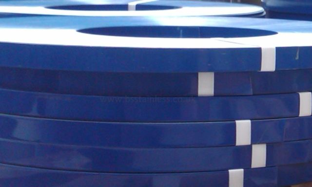 Photography of Stainless Steel Blue Banding