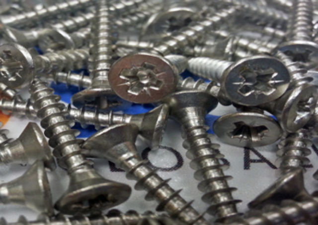 Stainless Steel Pozidrive Wood Screws